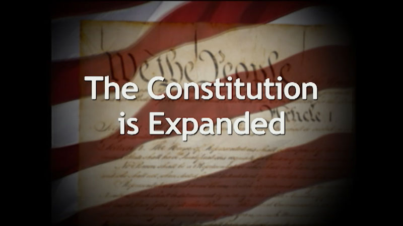 Still image from: A History of the U.S. Constitution: The Constitution Is Expanded (Part 6)