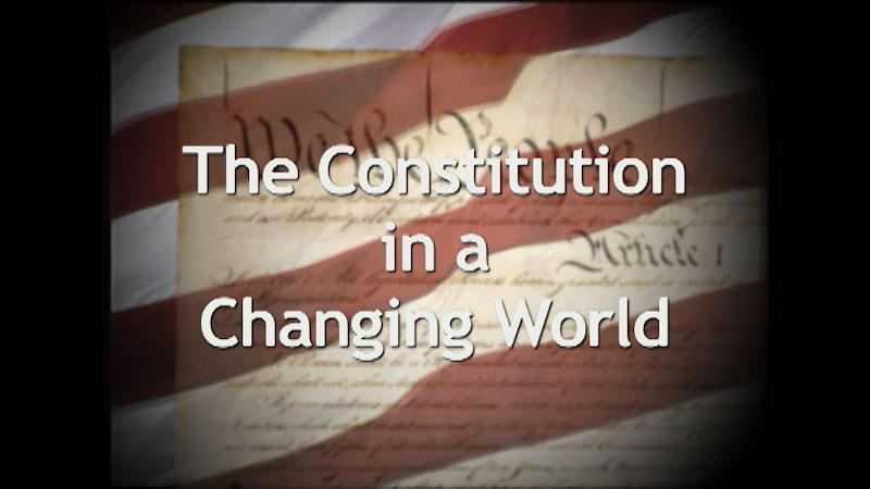 Still image from: A History of the U.S. Constitution: The Constitution in a Changing World (Part 7)
