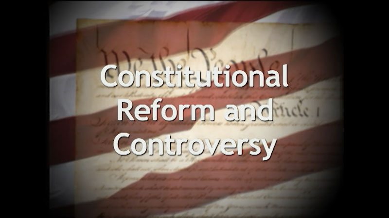 Still image from: A History of the U.S. Constitution: Constitutional Reform and Controversy (Part 8)