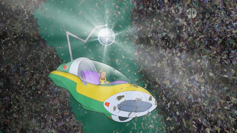 Still image from: Cyberchase: Space Waste Odyssey--Part 2