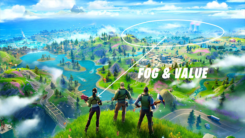 Still image from: How Was Fortnite Designed? Behind the Scenes of Game Design