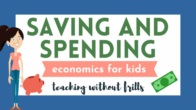 Still image from: Economics for Kids: Saving and Spending