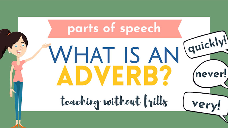 Still image from: Parts of Speech: What Is an Adverb?