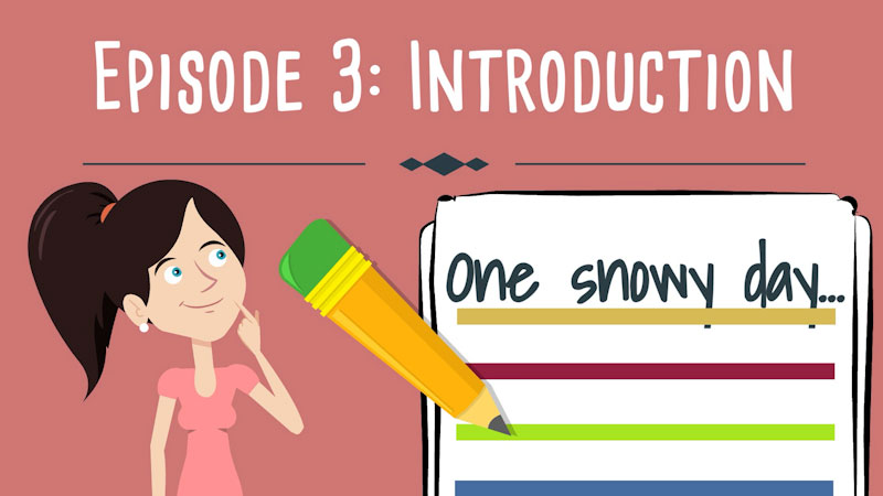 Still image from Realistic Fiction Writing for Kids: Introduction (Episode 3)