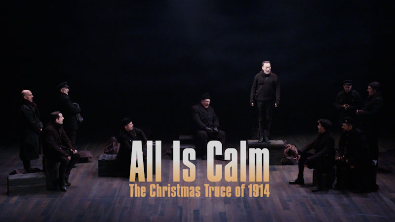 Still image from: All Is Calm: The Christmas Truce of 1914