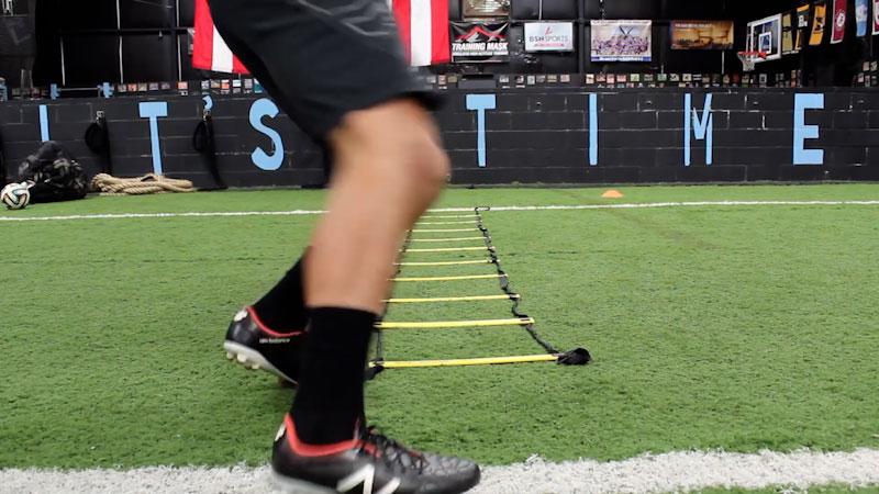 Still image from: 14 Best Speed Ladder Drills: Get Quick Fast