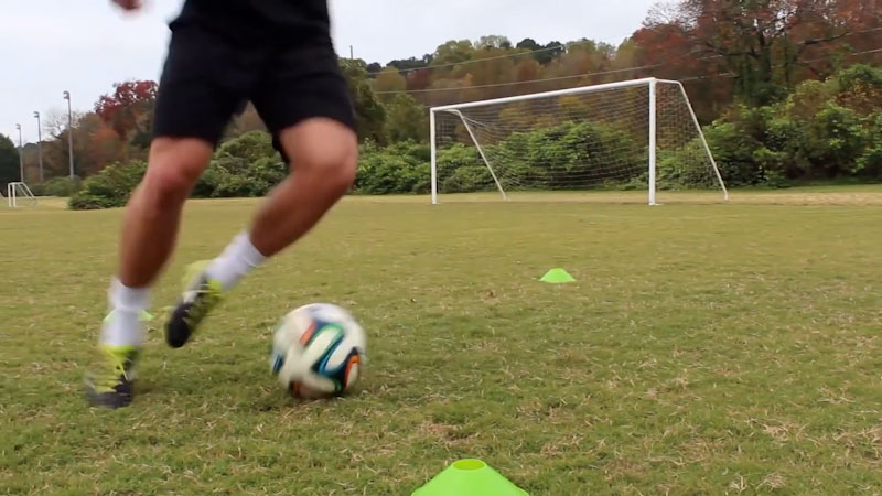 Still image from: Individual Training Session: Improve Footwork Fast (Part 2)