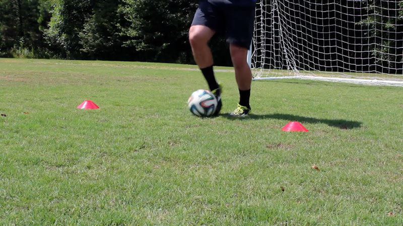 Still image from: Two Cone Skills Session: Improve Touch Quick