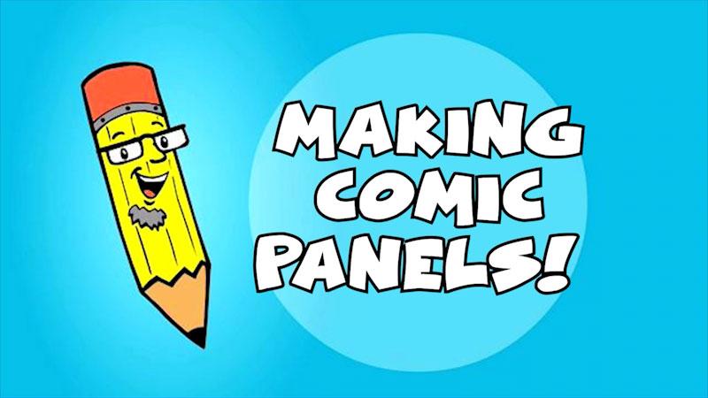 Still image from: Kids Make Comics #7: Making Comic Panels