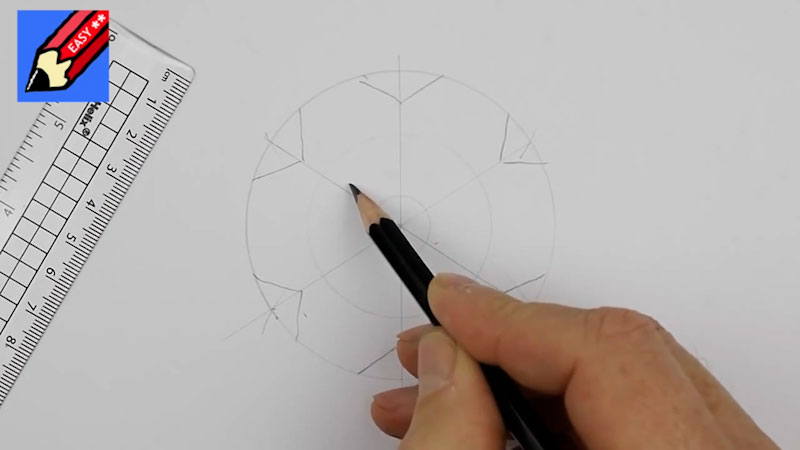 Still image from: How to Draw Snowflakes Easily