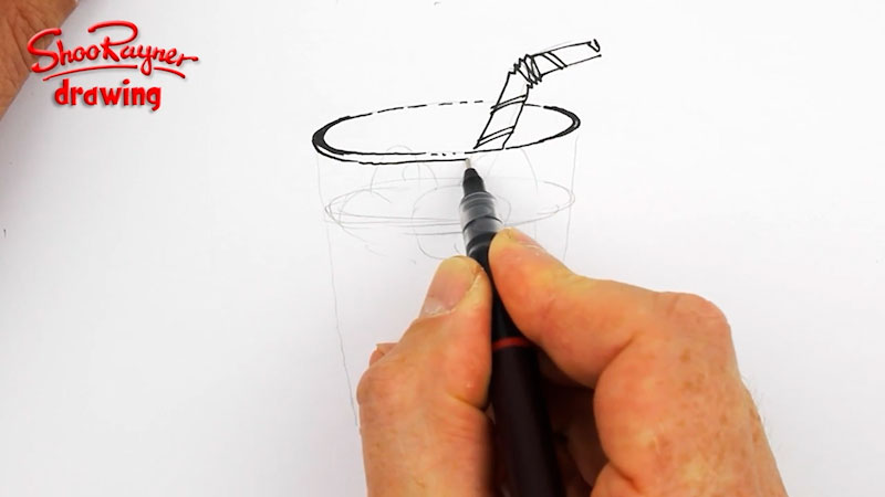 Still image from: Draw a Glass of Water