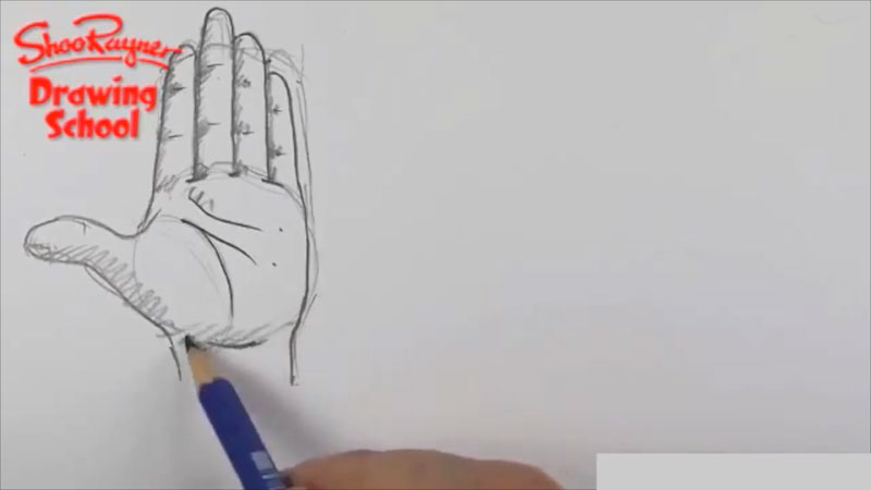 Still image from: How to Draw Hands