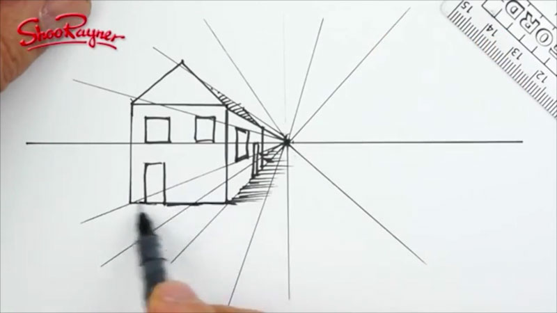 Still image from: One Point Perspective: Perspective 101 (Part 1)