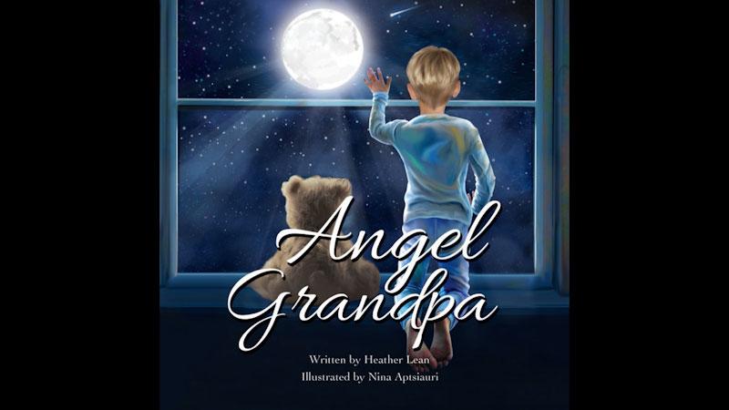 Still image from: Angel Grandpa