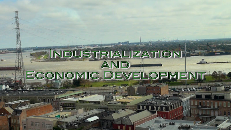 Still image from: Advanced Placement Human Geography: Making Sense of Planet Earth--Industrialization and Economic Development