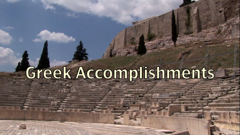 Still image from: Ancient History: Greek Accomplishments