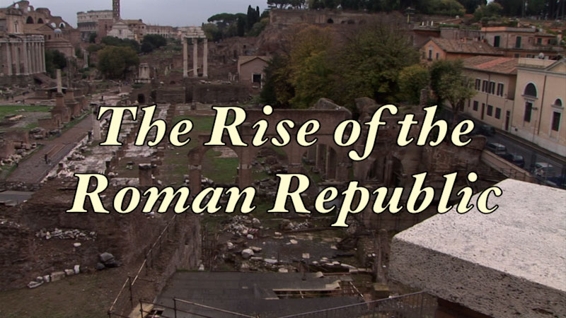 Still image from: Ancient History: Ancient Rome: Reexamined--The Rise of the Roman Republic