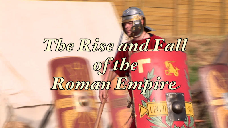Still image from: Ancient History: Ancient Rome: Reexamined--The Rise and Fall of the Roman Empire