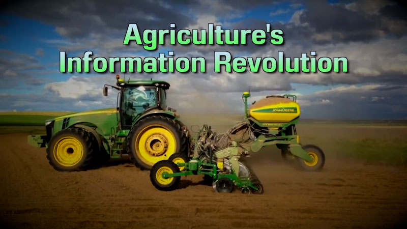 Still image from: Food and Agricultural Science: Agriculture's Information Revolution