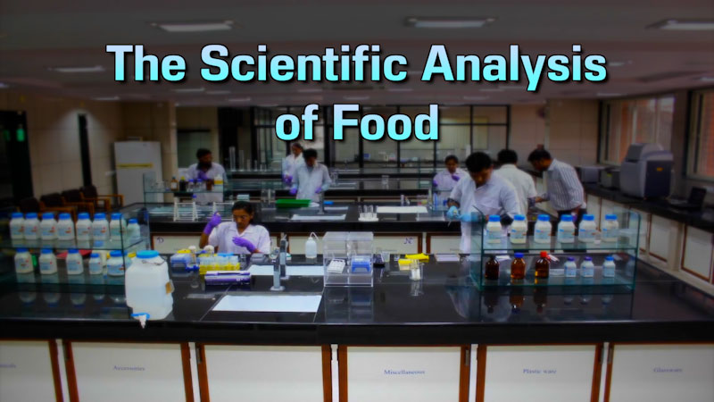 Still image from: Food and Agricultural Science: The Scientific Analysis of Food