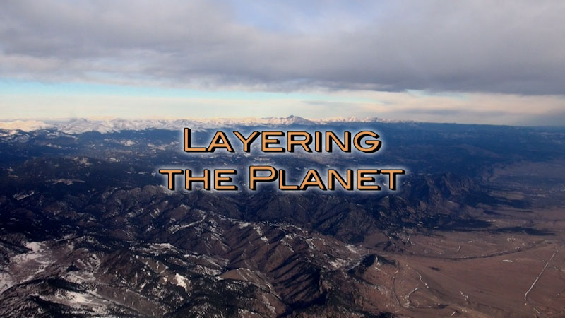 Still image from: Physical Geography: Making Sense of Planet Earth--Layering the Planet