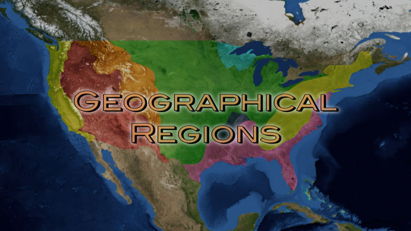 Still image from: Physical Geography: Making Sense of Planet Earth--Geographical Regions