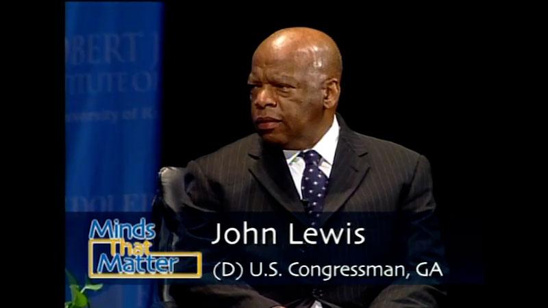 Still image from: Minds that Matter: John Lewis