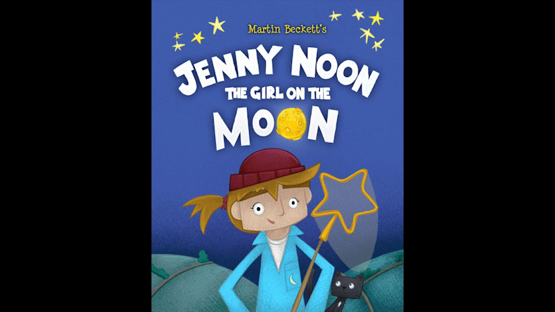 Still image from: Jenny Noon the Girl on the Moon