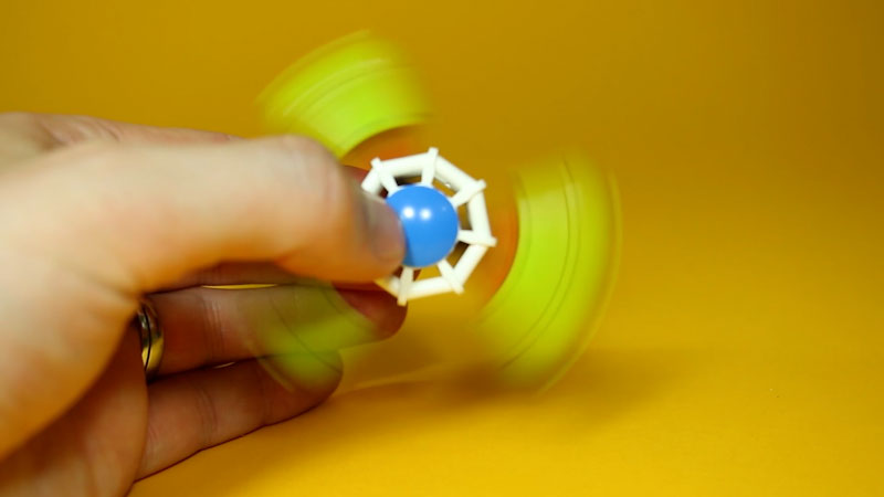 Still image from: How to Build LEGO Fidget Spinners