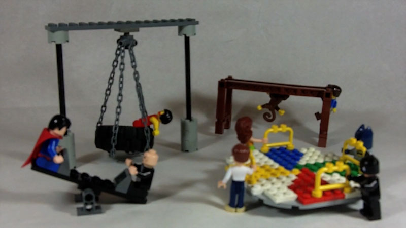 Still image from: How to Build a LEGO Playground (Part 2)