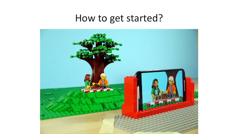 Still image from: How to Brickfilm (LEGO Stop-Motion Animation Tutorial)
