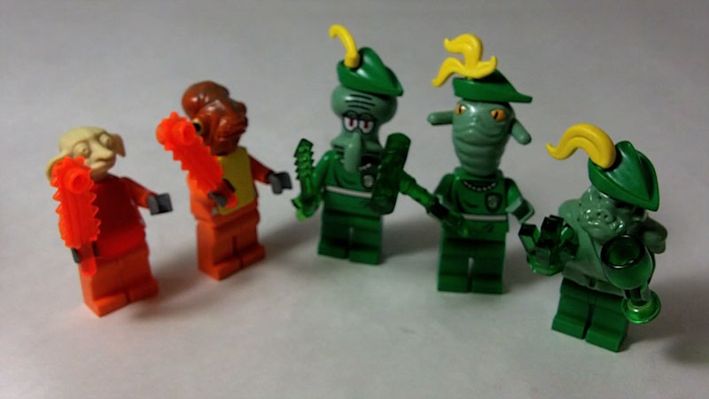 Still image from: How to Build LEGO Ghoubilies and Grembilies