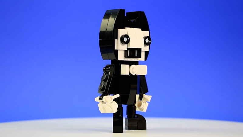 Still image from: How to Build LEGO Bendy