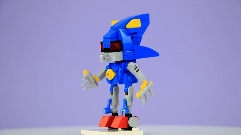 Still image from: How to Build LEGO Metal Sonic