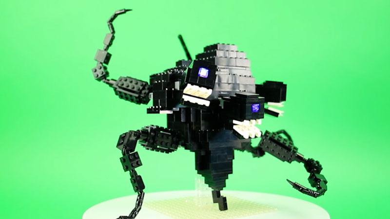 Still image from: How to Build LEGO Wither Storm