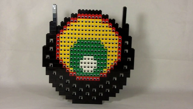 Still image from: How to Build LEGO Eye of Eyes