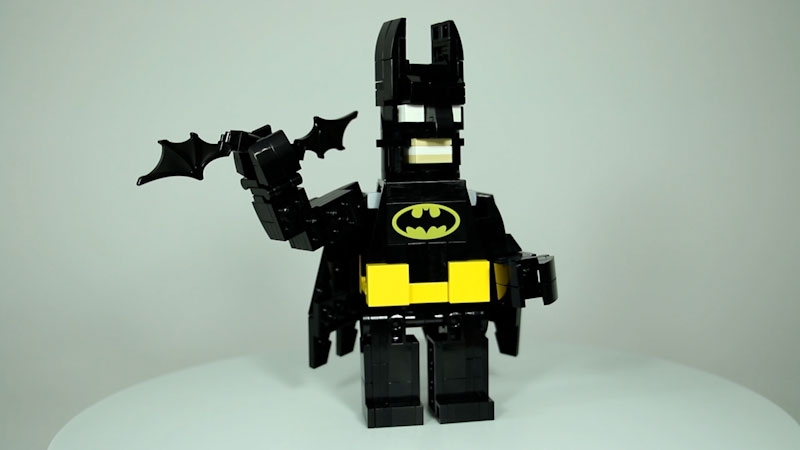 Still image from: How to Build LEGO Batman