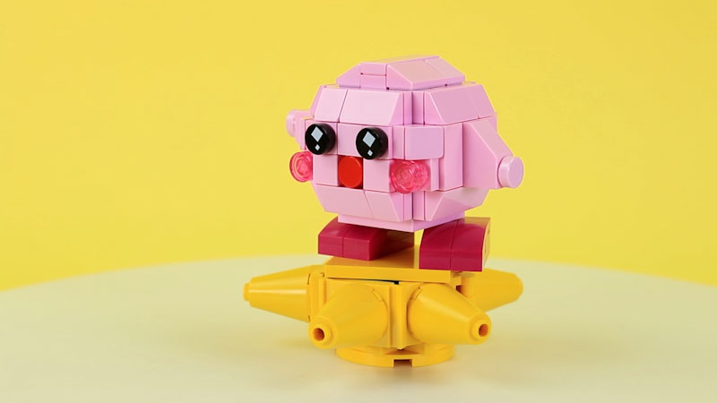 Still image from: How to Build LEGO Kirby