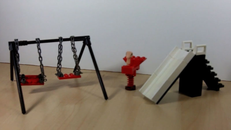 Still image from: How to Build a LEGO Playground (Part 1)