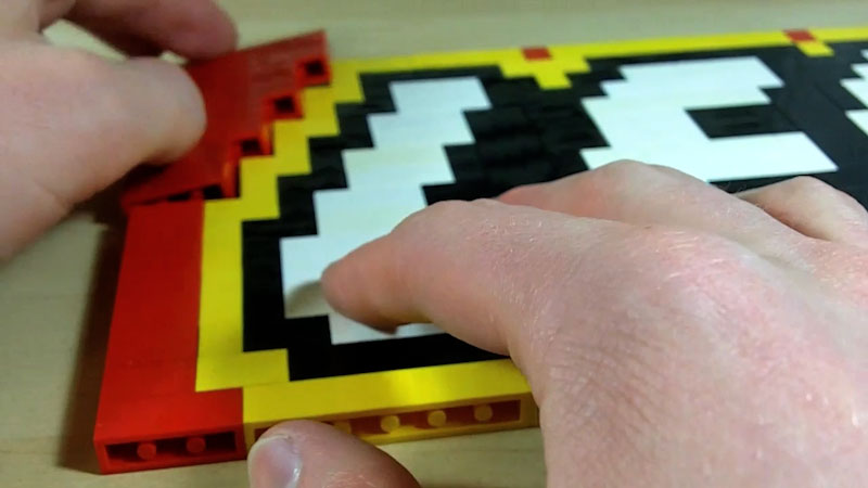 Still image from: How to Build LEGO Logo