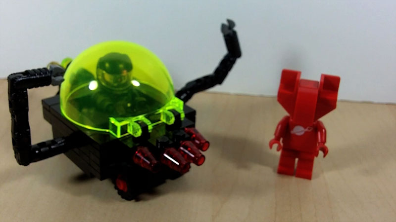 Still image from: How to Build a LEGO Robot Car