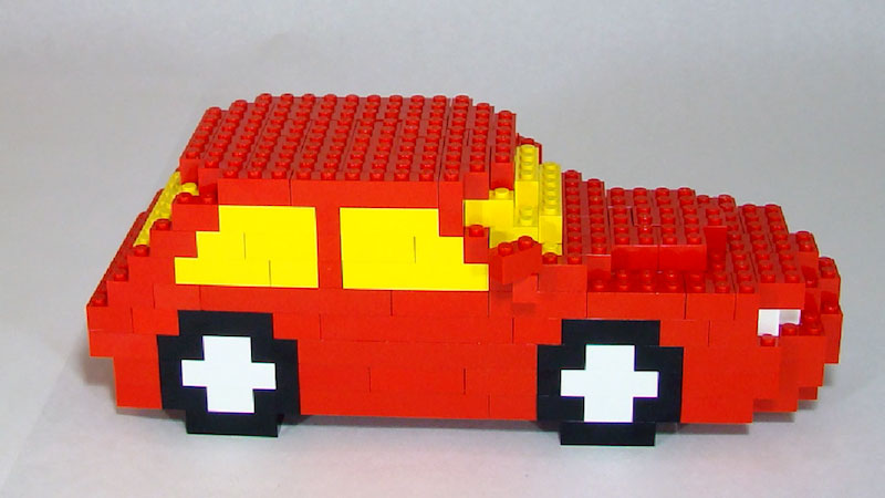 Still image from: How to Build a Red LEGO Car