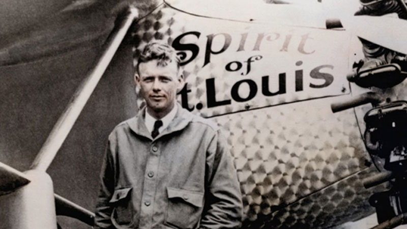 Still image from: Lindbergh's Great Race
