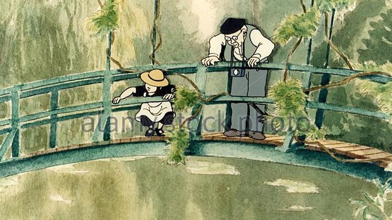 Still image from: Linnea in Monet's Garden