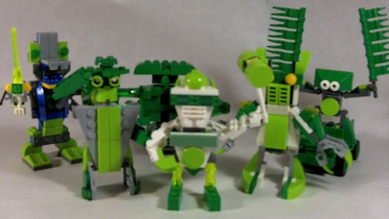 Still image from: How to Build Green LEGO Robots
