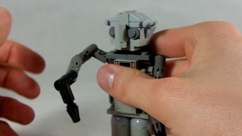 Still image from: How to Build LEGO Factory Robot (Chiselbot)