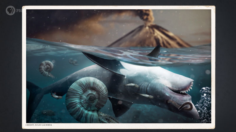 Still image from: Eons: How Earth's First, Unkillable Animals Saved the World