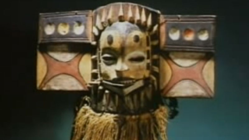 Still image from Masks From Many Cultures