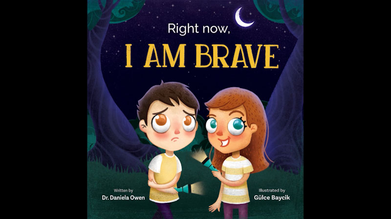 Still image from: Right Now I Am Brave