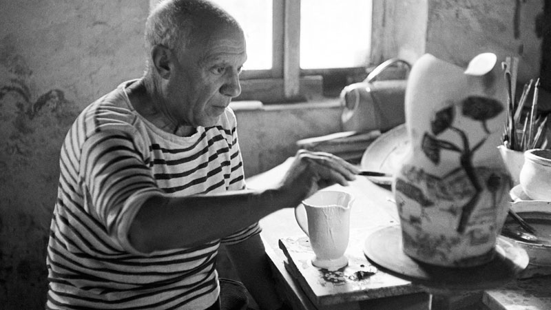Still image from: Picasso and His Time